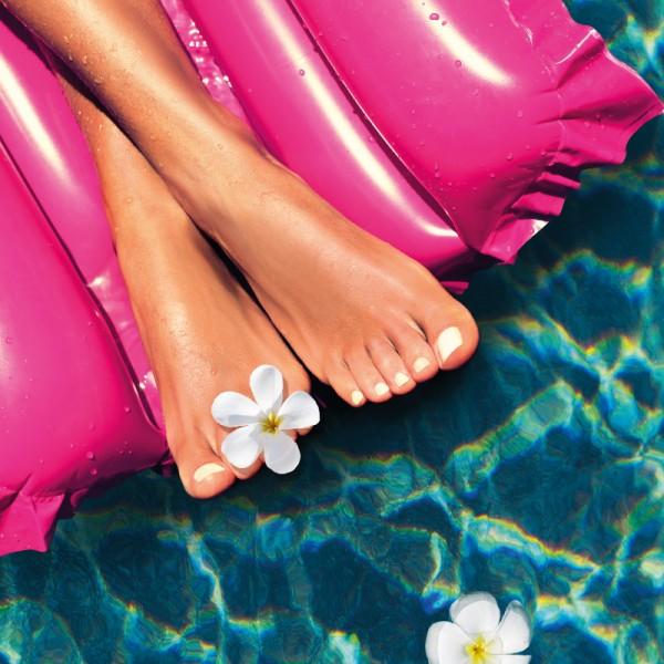 Gepflegete Füße für den Sommer