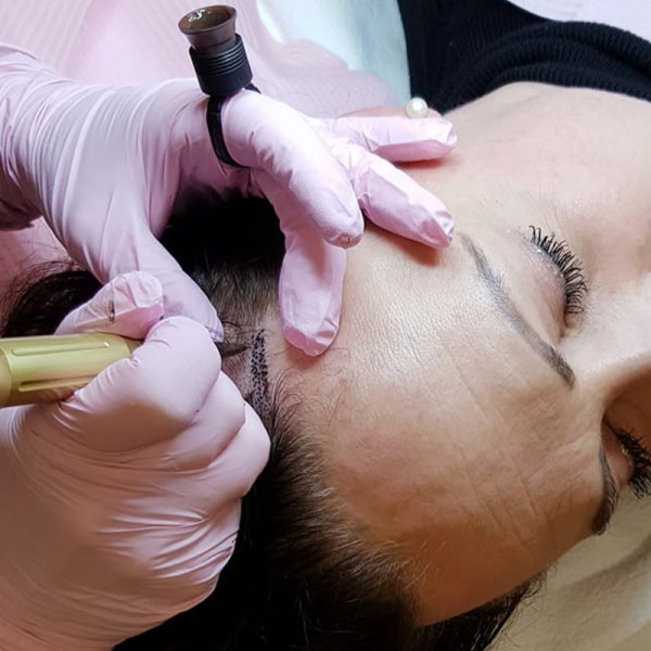 Permanent Make-up Modul 9: Scalp Pigmentation
